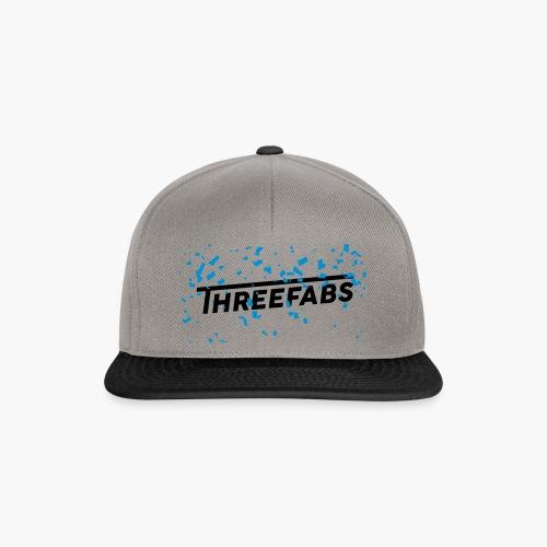 DJ ThreeFabs Blau Cap - Snapback Cap