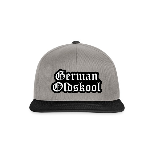 Grand Logo German Oldskool Official - Casquette snapback