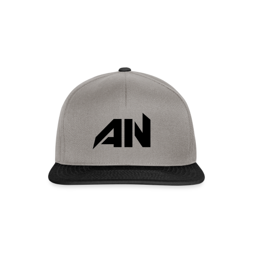 AN BLACK - Snapback Cap