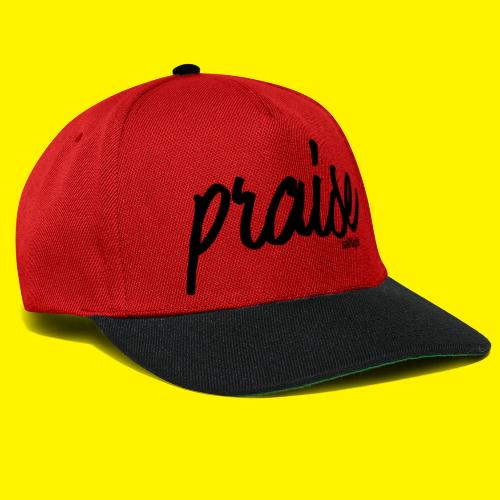Praise (BLACK) - Snapback Cap