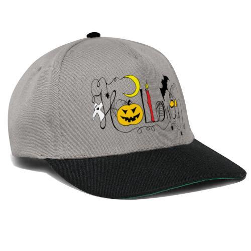 Halloween farbig - Snapback Cap