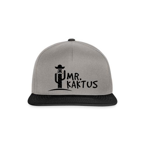 MR KAKTUS Logo - Snapback Cap