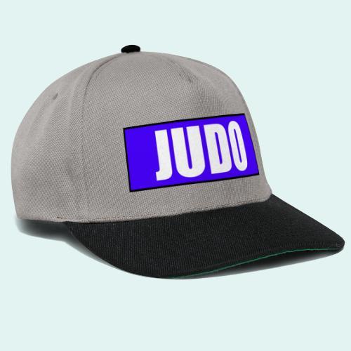 Judo Blau 2. Kyu - Snapback Cap