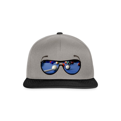 Cool Pool Shades - Snapback Cap