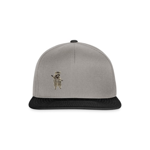 raccoon - Snapback Cap