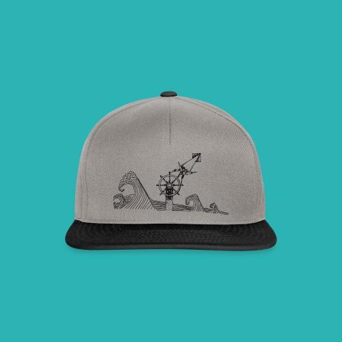 Carta_timone-png - Snapback Cap