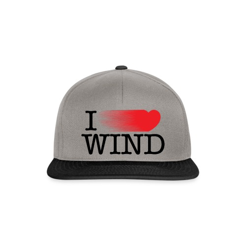 I Love Wind - Gorra Snapback