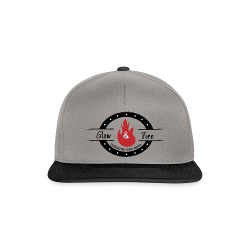 Glow & Fire official-black - Snapback Cap
