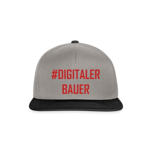 Digitaler Bauer - Trend nach Influencer und Nomade - Snapback Cap
