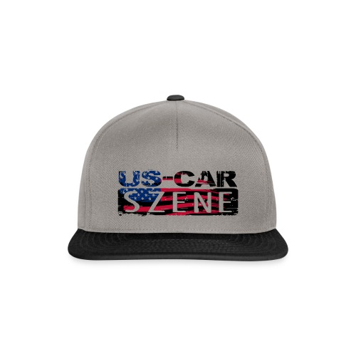 US CAR SZENE LOGO - Snapback Cap