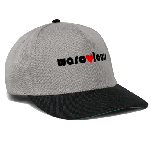 love warcolours black - Snapback Cap