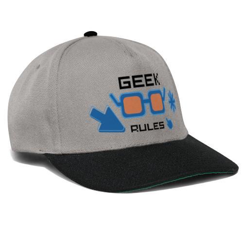 geek rules - Gorra Snapback