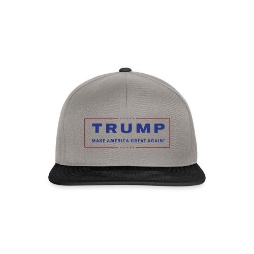 TRUMP Transparent Banner MAGA - Snapback Cap