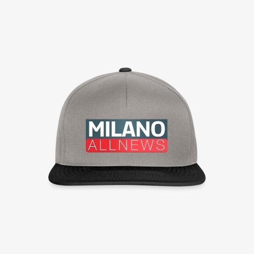Milano AllNews Logo - Snapback Cap