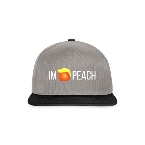 IMPEACH / Light Unisex Hoodie Sweat - Snapback Cap