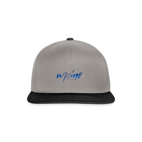 Meine Logo Blau - Snapback Cap