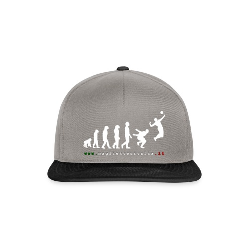 evolution volley attack w new - Snapback Cap