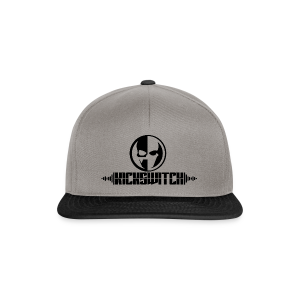 KickSwitch Logo with text - Snapback Cap