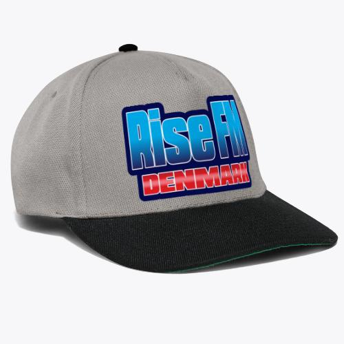 Rise FM Denmark Text Only Logo - Snapback Cap