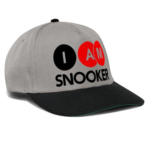 I AM SNOOKER - Snapback Cap