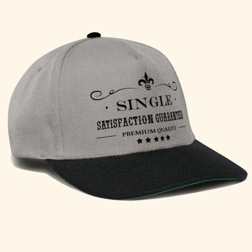 Single, bachelor - Casquette snapback