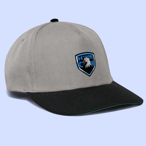 HypeCw logo (Silver) - Snapback Cap