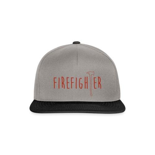 Firefighter Axt - Rot - Snapback Cap