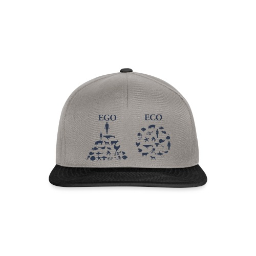 Ego VS Eco - Snapback Cap