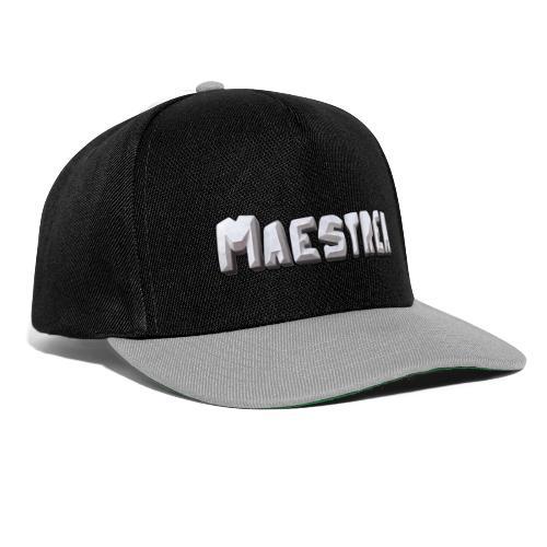 Maestrea Logo Text - Snapbackkeps