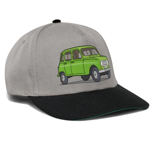 Grüner R4 (Auto) - Snapback Cap