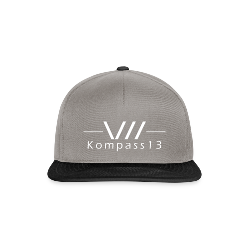 Kompass13 logo - Snapback Cap