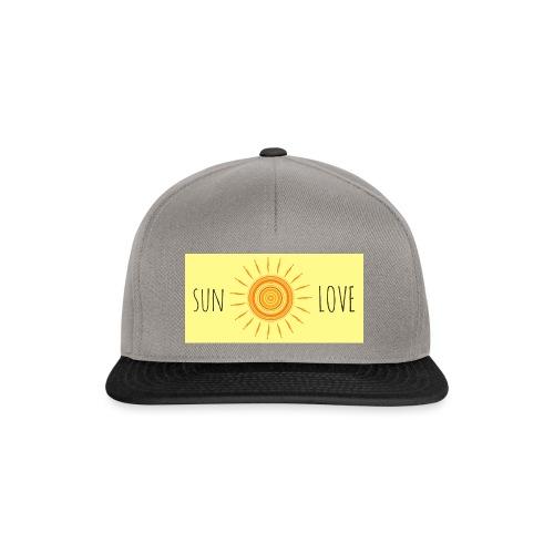 Sun Love - Snapback Cap