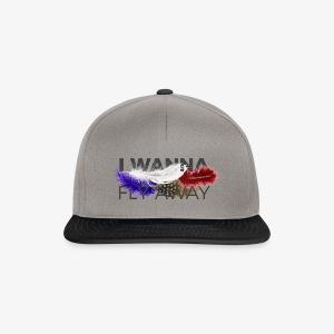 FLY AWAY - Czapka typu snapback