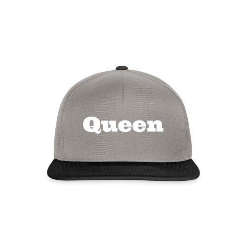 Snapback queen zwart/rood - Snapback cap