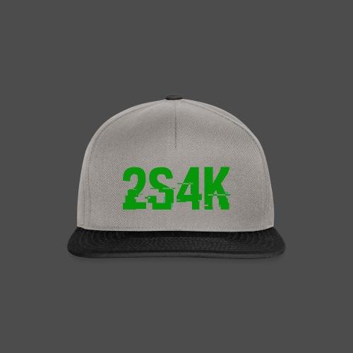 LOGO Grønn Hacked - Snapback-caps