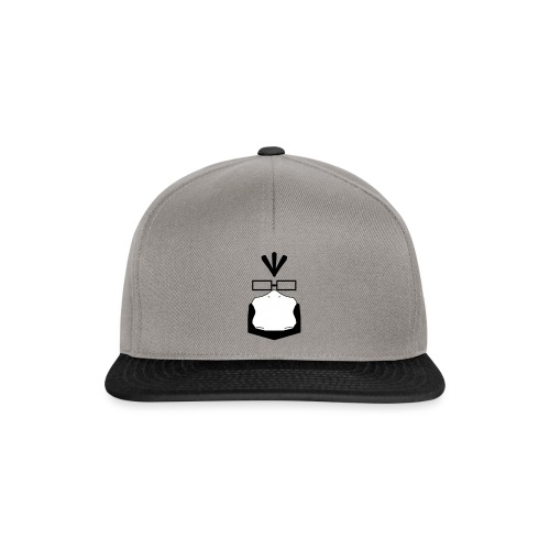 logo (with transparency) - Snapback Cap
