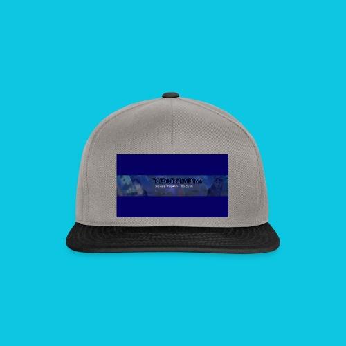 buismat bleu - Snapback cap