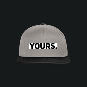 ZWART YOURS. SWEATER MAN - Snapback cap