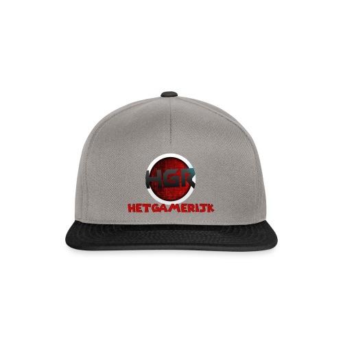 HetGameRijk logo + tekst - Snapback cap