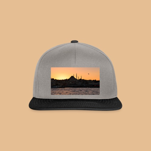 Istanbul_Sea_Urban_Sunset_Ultra_HD - Casquette snapback