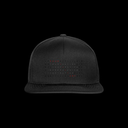 Word search It... - Snapback Cap