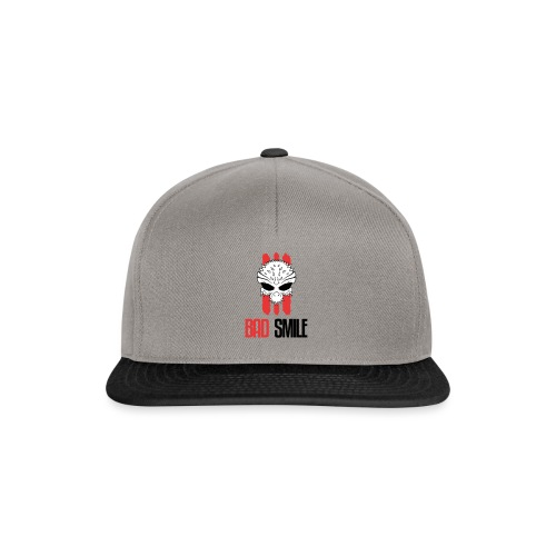 BadSmile - Snapback Cap