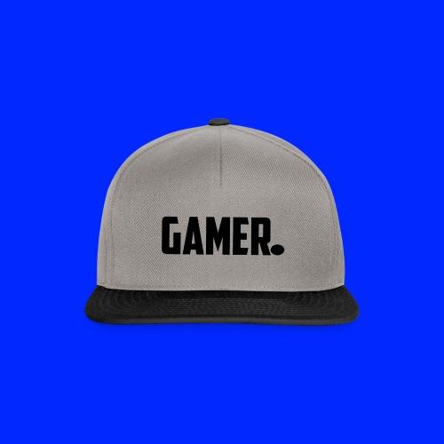 gamer. - Snapback cap