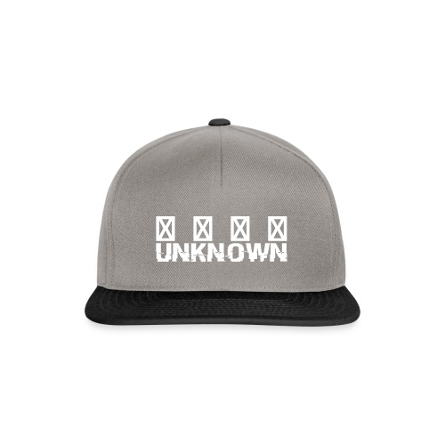 Unknown Kollektion - Snapback Cap