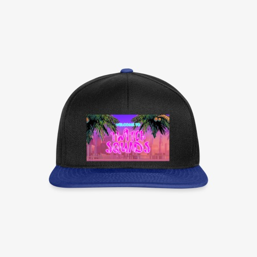 Welcome To Twitch Squads - Snapback Cap