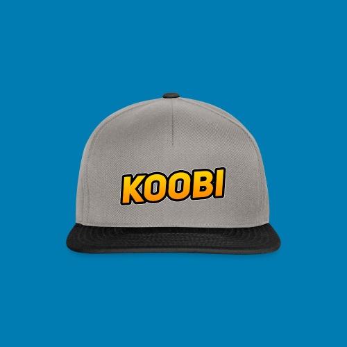 KOOBI Schriftzug - Snapback Cap