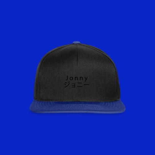 J o n n y (black) - Snapback Cap