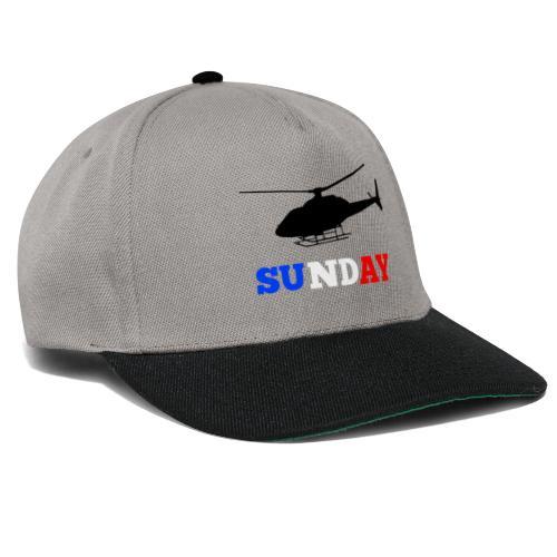 helicopter sunday - Snapback Cap