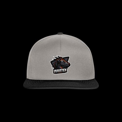 Wartex Logo Weiss - Snapback Cap