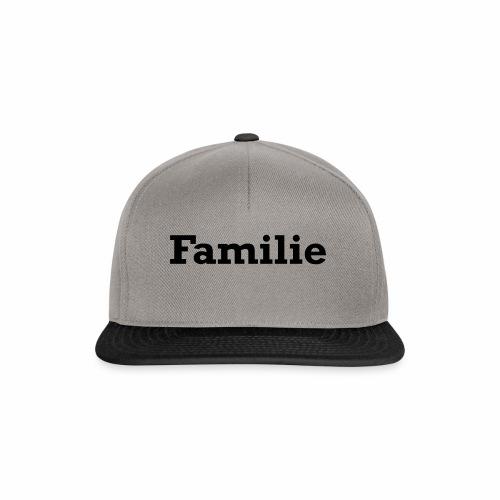 Familie - Snapback Cap